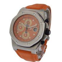 Audemars Piguet Offshore Royal Oak Chronograph on Orange Strap