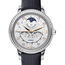Maurice Lacroix Starside Eternal Moon Diamond Bezel, Satin Strap