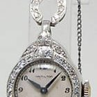 Hamilton Vintage Platinum and Diamond Ladies Watch