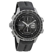 Hamilton Khaki X-Wind Automatic Black Dial Black Rubber...
