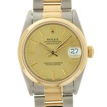 Rolex Medio Datejust acc- oro zaffiro art. Rm1123
