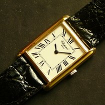 Chopard TANK 18K yellow gold dress watch, 25 x 33 mm