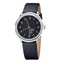 Mondaine UNISEX Quartz 40mm Helvetica No1 Regular MH1.R2220.LB