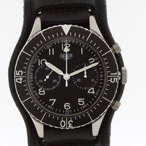 Heuer Bundeswehr Chronograph Ref. 1550 SG Flyback Valjoux 230...