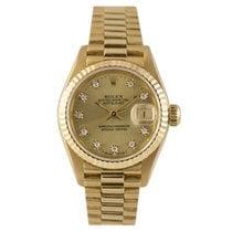 Rolex Datejust President Ladies 18k Diamond Dial, Ref: 69178