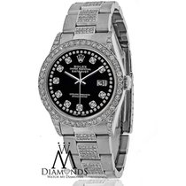 Rolex Diamond Rolex Datejust 16200 36mm Diamond Oyster...
