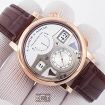 A. Lange & Söhne Zeitwerk Striking Time Rose Gold Silver Dial