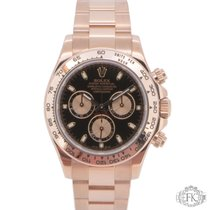 Rolex Daytona Rose Gold 116505 Black Dial - Pink Gold