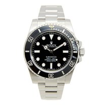 Rolex Submariner Stainless Steel Black Automatic 114060