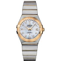 Omega Constellation  SS & Yellow Gold Ladies watch...