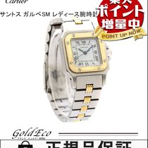 Cartier 【カルティエ】 サントス ガルべ SM 腕時計W20057C4 オートマチックSS×K18YG...