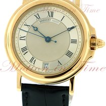 Breguet Marine Automatic, Silver Dial - Yellow Gold on Strap