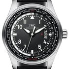 IWC Pilot's Worldtimer, Black Dial -Stainless Steel...
