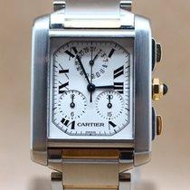 Cartier Tank Francaise Chronoflex 18K Gold