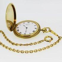 Chopard L.U.C. Taschenuhr Frackuhr inkl. Kette wie NEU 18Kt Gold