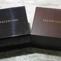 Valentino vintage wooden watch box newoldstock