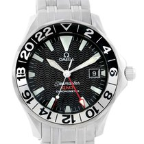 Omega Seamaster Gmt 50th Anniversary Automatic Mens Watch...