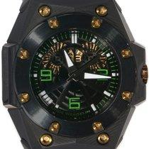Linde Werdelin Oktopus Double Date Carbon Green OKT.CG