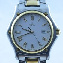 Ebel 1911 Herren Uhr 36mm Quartz Stahl/gold Top Zustand Rar...