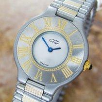 Cartier Century Must 21 Quartz S.s Ladies 2000s Luxury Dress...