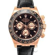 Rolex Daytona Black/Leather 40mm - 116515LN