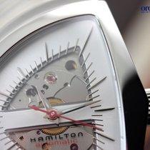 Hamilton Men's Ventura Automatic Steel on Leather Silver Face