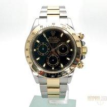 Rolex Daytona Cosmograph 40 Edelstahl / Gelbgold 116523 aus 2005
