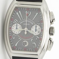 Franck Muller Conquistador 8005 Cc Gray Chronograph Steel...
