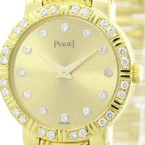 Piaget Polished Piaget Dancer Diamond 18k Gold Quartz Ladies...