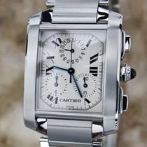 Cartier Tank Francaise 2303 Swiss Precision Men's Quartz...