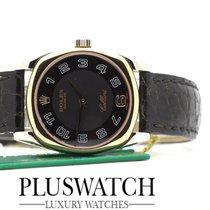 Rolex Cellini Danaos Ladies 18k White Rose Gold Watch 6229/9 ...