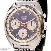 Heuer Vintage CARRERA Ref-73653 Stainless Steel Cal-7736 Bj-1973