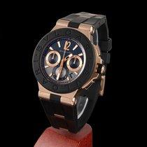 Bulgari diagono rose gold chronograph automatic men size