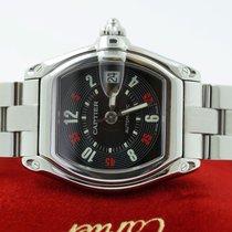 Cartier Roadster Automatic Steel Black Arabic Dial (38 x 43 mm)