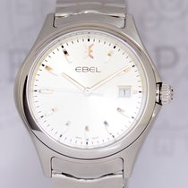 Ebel Wave Silver Dial Seel 40mm Klassiker NEU B+P Dresswatch