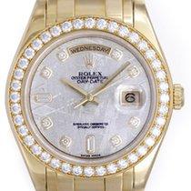 Rolex Men's Diamond Rolex Masterpiece 18k Yellow Gold...