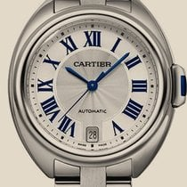 Cartier Clé de Cartier 35 mm Steel