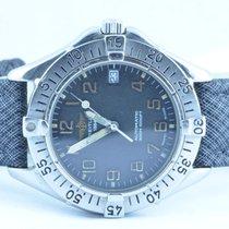 Breitling Herren Uhr Vintage 37mm Stahl/stahl Colt Automatik...