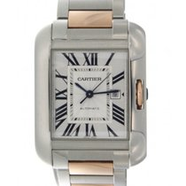 Cartier Tank Anglaise W5310036 Steel, Red Gold