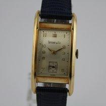 Tiffany & Co 14k Gold Vintage Uhr #K2789
