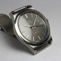 Omega Genève, 70s, steel, 1975, black dial