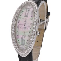 Corum 2 Time Zone Lady's Millenium 2000 in White Gold
