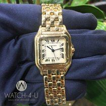 Cartier Panthere 27mm 18k Solid Gold Womens Luxury Watch