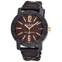 Bulgari Men's BBP40C11CGLD Bvlgari CarbonGold Automatic Watch
