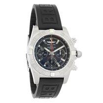 Breitling Chronomat 44 Mens Chronograph Watch AB011010/BB08-153S