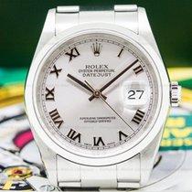 Rolex 16200 Datejust SS Rhodium Dial (26264)