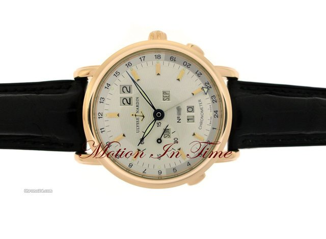 Ulysse Nardin GMT  PERPETUAL CALENDAR AUTOMATIC - ROSE GOLD - LTD 500 PCS
