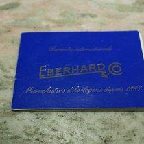 Eberhard & Co. vintage warranty booklet champion chrono...
