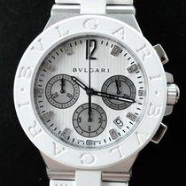 Bulgari DIAGONO Diamonds 40mm Automatic Dreamwhite Chronograph