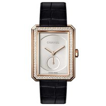 Chanel Boyfriend 18ct rose gold diamonds H4471